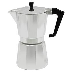 Cafetera Aluminio Pezzetti 9 Tazas Abert