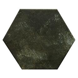 Porcelanato Hexagonal Terracina Black 25x29cm Hecha en España
