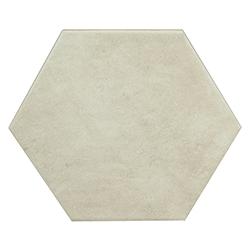 Porcelanato Hexagonal Terracina White 25x29cm Hecha en España