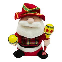 Papa Noel Musical Bailarín