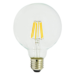 Foco Led Bola G95 6W E27 Dimerizable Lumicino