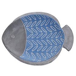 Plato con Diseño de Pescado