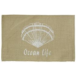 Individual de Yute Ocean Life 45x30cm