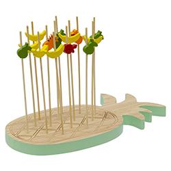 Bandeja Bambú con Pinchos