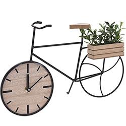 Reloj de Escritorio Bicicleta Jardín