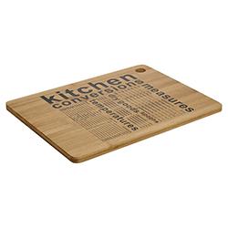 Tabla de Picar de Bamboo con Medidas