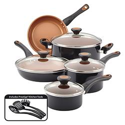 Ollas Glide Copper 12 Piezas Farberware