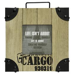 Porta Retrato Cargo 19x19cm