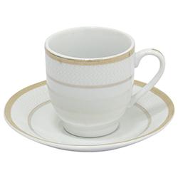 Taza con Plato para Espresso Eastwood Royal Rochdale