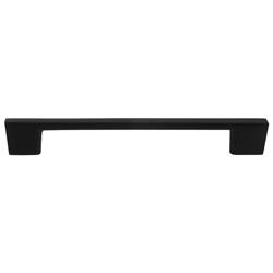 Tiradera Arch Negra Mate 160mm