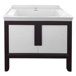 Mueble Blanco Café con Lavamanos 80x52cm
