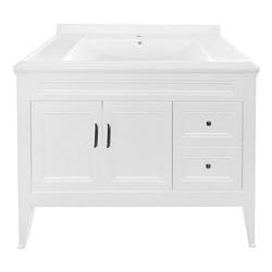 Mueble Blanco con Lavamanos 100x48cm