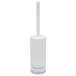 Porta Cepillo Blanco para Baño Flat