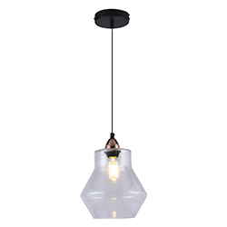 Lámpara Colgante Meknes Cristal Eurolight