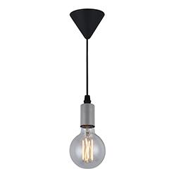 Lámpara Colgante Socket Satín Eurolight