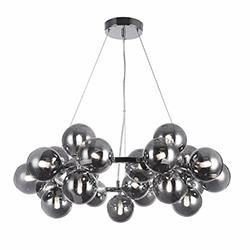 Lámpara Colgante Brace Round Cromo Eurolight