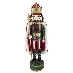 Cascanuez Rey con Capa 50cm