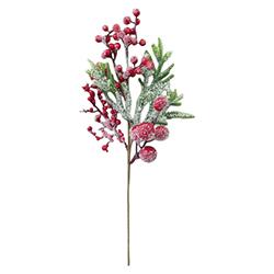 Rama Cerezos Roja 40cm