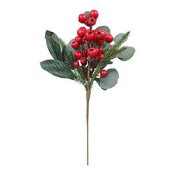 Rama Cerezos Rojo 43cm