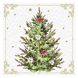 Servilleta Christmas Tree 25x25cm 20 Unidades