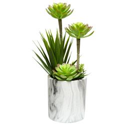 Maceta con Planta Artificial