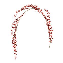 Guirnalda  Roja de 150cm