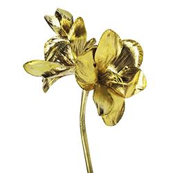 Flor Navideña Oro