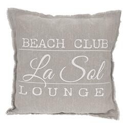 Cojín Beach Club  45x45cm
