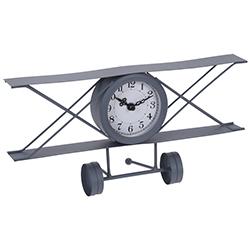 Reloj Avión Gris