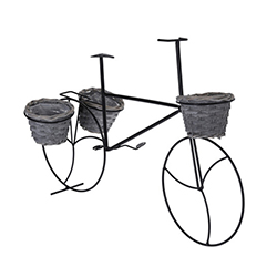 Macetero Mini Basket Bicicleta Decorativo