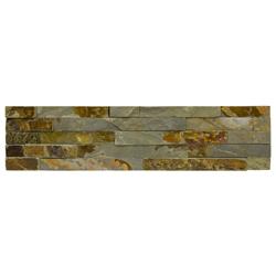 Piedra Ladrillo Gris Oxido 15x60cm