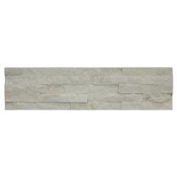 Piedra Ladrillo Blanco Quartzite 15x60cm