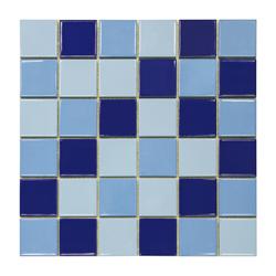 Mosaico Porcelanato Mix Azul LG 30.6x30.6cm (.0936)