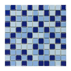 Mosaico Porcelanato Mix Azul 30.2x30.2cm (.0936)