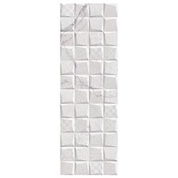 Porcelanato Palatina Deco Blanco 30x90cm Hecho en España