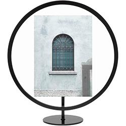 Porta Retrato Infinity Negro 30cm Umbra