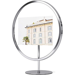 Porta Retrato Infinity Cromo 28cm Umbra