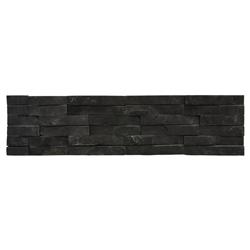 Piedra Ladrillo Negra 15x60cm