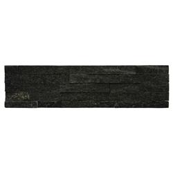 Piedra Ladrillo Negra Quartzite 15x60cm