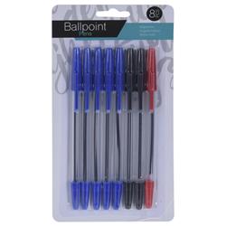 Bolígrafo Colores 8 Piezas