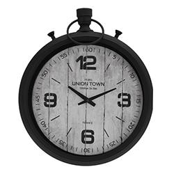 Reloj de Pared Unión 47x40cm  Bronce Blanco