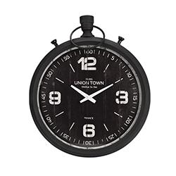 Reloj de Pared Unión 47x40cm  Bronce Negro
