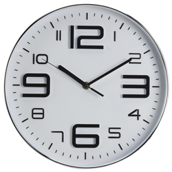 Reloj de Pared Crack Blanco
