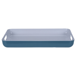 Bandeja Rectangular Teal