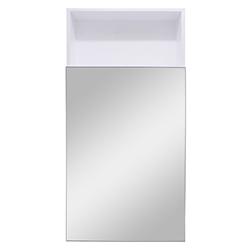 Botiquin Blanco con Espejo 80x40cm