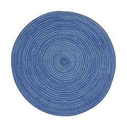 Individual  Tejido Azul 39cm