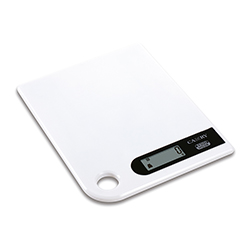 Balanza Digital Blanca  para Cocina 11lb Camry