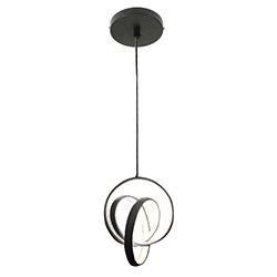 Lámpara de Techo Chain Negra Led