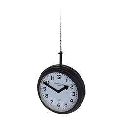 Reloj Colgante Station Negro