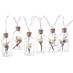 Botellas Floral con Luz Led
